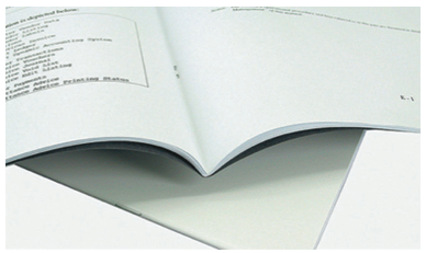 booklet Saddle Stitch @ Staple Binding